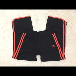 Youth girls adidas track pants. M